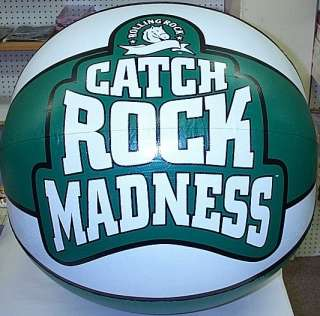 Rolling Rock Catch Madness Beach Ball Basketball Sign