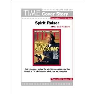 Spirit Raiser  TIME Magazine Cover Story David Van Biema