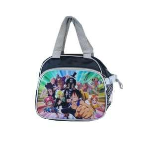 One Piece Lunch Manga Character Lunch Bag (Grey) Toys