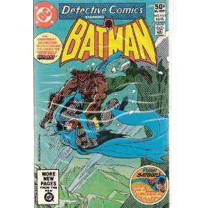 Detective Comics Starring Batman 505 (Werewolf Moon) Books