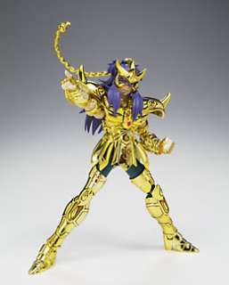 SAINT SEIYA Cloth Myth Gold Scorpio Milo ANIME FIGURE