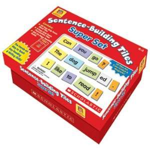 BUILDING TILES SUPER SET LITTLE RED TOOL BOX SENTENCE