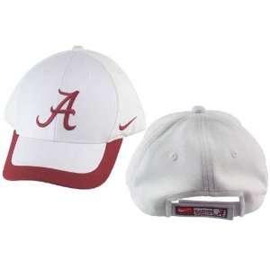 Alabama Crimson Tide White Coaches Sideline Hat