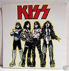 Kiss Group Rock Band Concert Sticker Old Store Stock