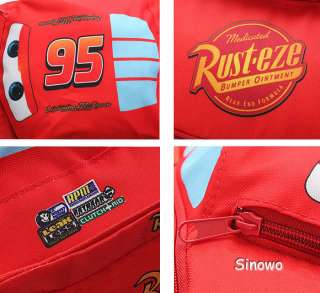CARS Lightning McQueen KIDS BACKPACK SCHOOL BOOKBAG SHOULDE Bag