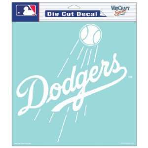 Los Angeles Dodgers MLB Die Cut Decal (8x8) by Wincraft
