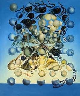 Galatea of the Spheres 1952 Repro Art Oil Salvador Dali