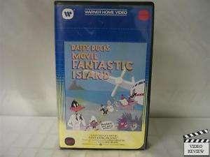 Daffy Ducks Movie Fantastic Island VHS Looney Tunes