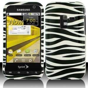 Samsung D600 Conquer 4G Black Whie Zebra Case Cover Proecor (free
