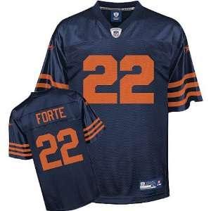 Mens Chicago Bears #22 Matt Forte Replica Third Jersey