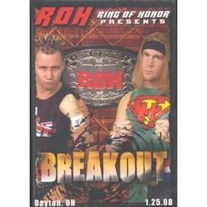 Ring of Honor Wrestling Breakout DVD Dayton, OH 01.25.08 Movies & TV