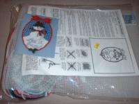 LET IT SNOW Snowman WALL HANGING Plastic Canvas KIT NEW