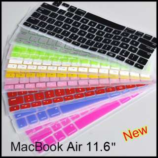 Silicon KeyBoard Cover Case For MacBook Air 11.6 New*