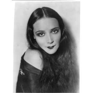Delores Del Rio,1905 1983,Mexican Film Actress,silent era,Princess of