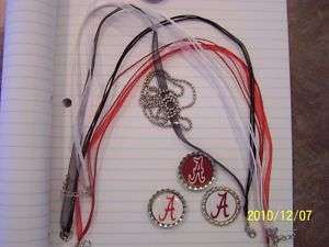 BOTTLE CAP NECKLACE ROLL TIDE ALABAMA A TEACHER GIFT?