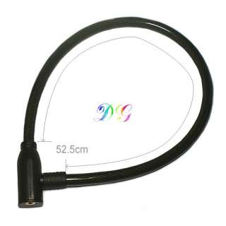 New High Quality Steel Spiral Cable Bike Bicycle Lock