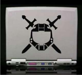 Halo Spartan Helmet xBox Vinyl Decal Sticker