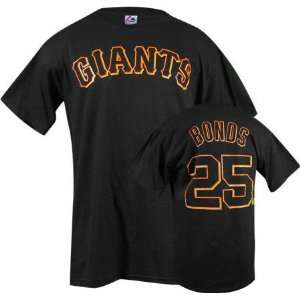 Barry Bonds Majestic Name and Number San Francisco Giants Infant T