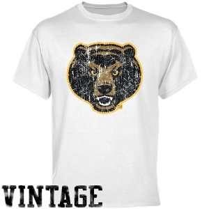 NCAA Baylor Bears White Distressed Logo Vintage T shirt