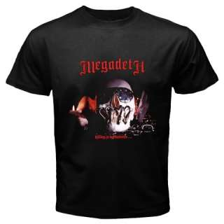 Volume2Megadeth Hard Rock Trash Heavy Metal Band in Two DesignsMens T