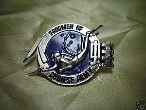 ROC Taiwan Army FROGMEN pin #B