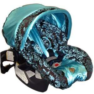 Baby Bella Maya Infant Girls Designer Blue Champagne Car