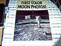Front page Of The Detroit News August 5th, 1969 Moon