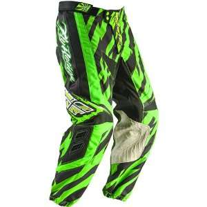 Fly Racing Kinetic Mens Dirt Bike Motorcycle Pants   Green/Black