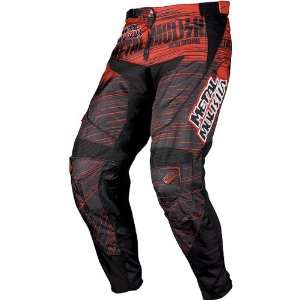 MSR Racing Metal Mulisha Maimed Mens Dirt Bike Motorcycle Pants   Red
