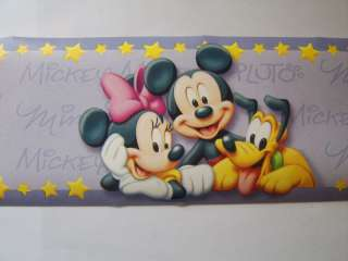 MICKEY MOUSE CLUBHOUSE DISNEY MINI MOUSE BORDER 10meter