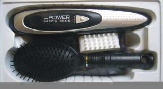 New Power Grow Laser Comb Kit Regrow Hair Loss Therapy Cure