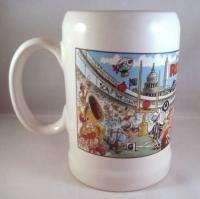 Washington Redskins Ceramic Beer Stein Mug