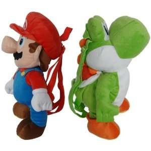 Super Mario Brothers Nintendo Plush Backpack Case Of 6 Toys & Games