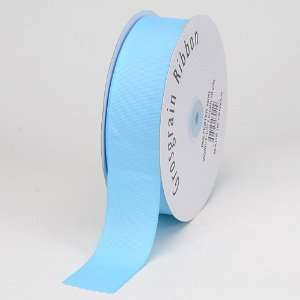 Ribbon Solid Color 3/8 inch 50 Yards, Light Blue Health & Personal