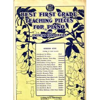 Grade Teaching Pieces for Piano Sheet Music by Eminent Composers 1937