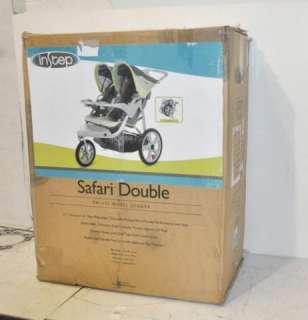 In Step 11 AR238 Safari Double Swivel Wheel Jogger Stroller