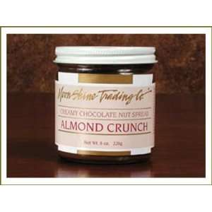 Milk Chocolate Almond Crunch   1 Gallon (7.5 lbs) Bucket: