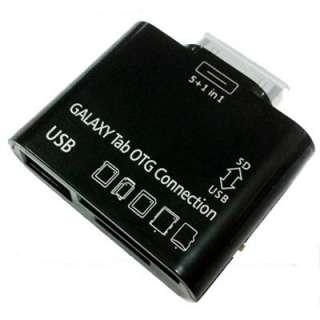 GALAXY TAB 10.1 P7500 P7510 USB Card Reader KIT OTG HOST Black