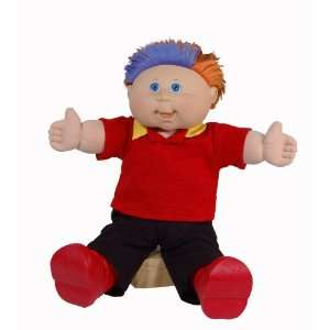 Patch Kids Feature Doll Magic Touch   Caucasian Boy Red Hair Toys