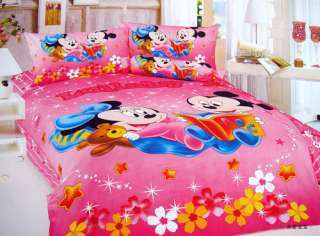 Baby Mickey and Minnie Mouse Single Bed Quilt Cover Set ***