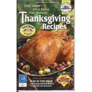 Easy Home Cooking Thanksgiving Recipes October / November 2005