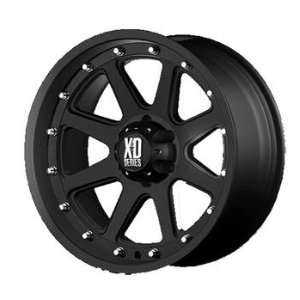 XD XD798 20x9 Black Wheel / Rim 5x150 with a  12mm Offset and a 110.50