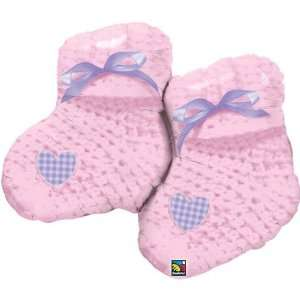 Pink Baby Booties 35 Inch Ballool Toys & Games