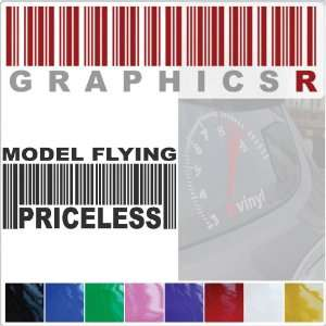 Graphic   Barcode UPC Priceless Model Flying Plane Aircraft A721   Red