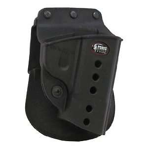 E2 Roto Paddle Holster, Rubberized Paddle, Protective Sight Channel