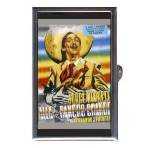 JORGE NEGRETE RANCHO GRANDE Coin, Mint or Pill Box Made