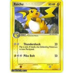 Raichu (Pokemon   EX Holon Phantoms   Raichu #051 Mint
