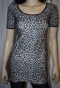 LEOPARD PRINT DRESS PUNK ROCK EMO ROCKABILLY PINUP