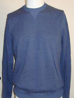 BANANA REPUBLIC Crew Pullover SWEATER Shirt Mens (Gray/Blues or Orange