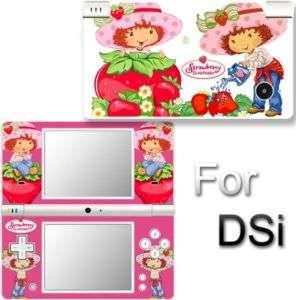 Strawberry Shortcake SKIN DECAL COVER STICKER for DSi